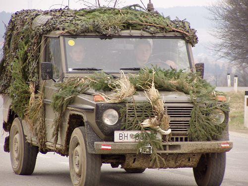 Puch G6 LWB 300GD army